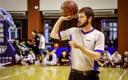 青春就该挥洒赛场 ——记王府学校V.S.鼎石学校初中部篮球友谊赛