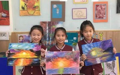 用心描绘,感受自然——第三届校内美术大赛