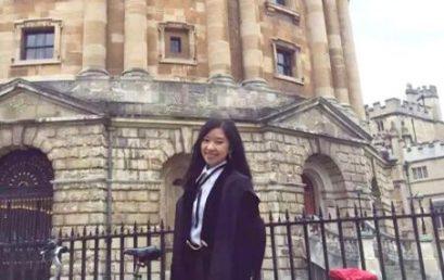 杨頔 牛津大学