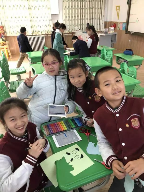 BRFLS Foreign Teachers Uses IPads In Today's Classroom