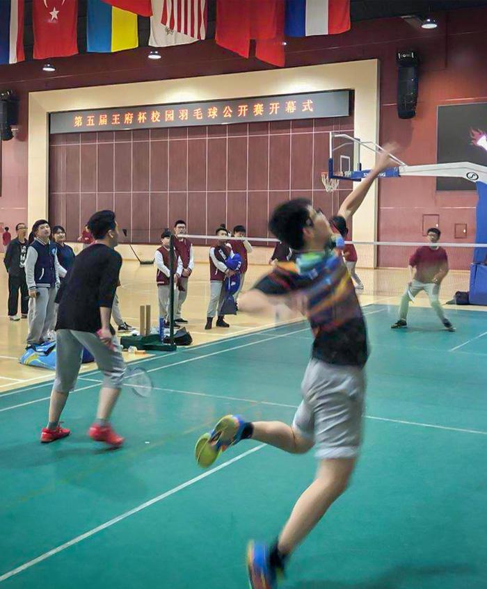 争霸羽王 | 第五届王府杯校园羽毛球公开赛开幕