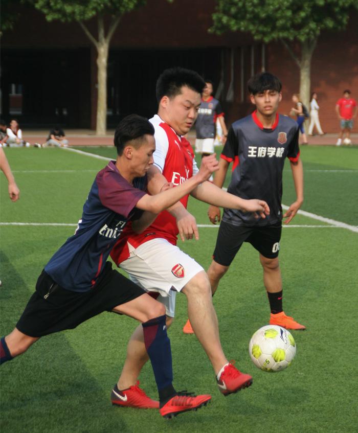 绿茵竞技 | 北京王府学校师生足球友谊赛火热举行