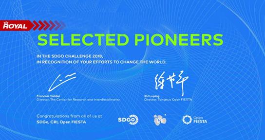 让废水发电!王府学子荣获2018 SDGo Challenge大赛中国区优胜奖