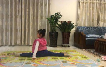 舞蹈伴你快乐成长 一(4)班柳凯茜家长来信