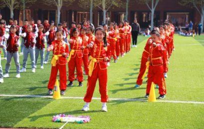 展少年风采, 振王府雄威 │ 小学部武术健身操大赛