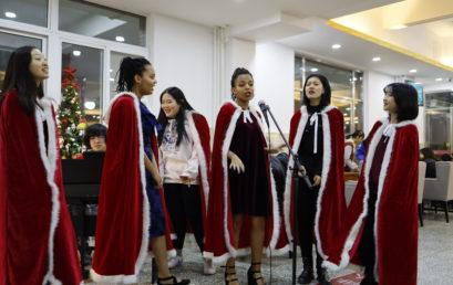 社团联合会组织开展圣诞节特别活动