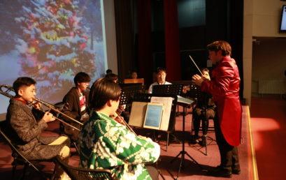冬日来临,守望平安 | 北京王府学校成功举办圣诞音乐会