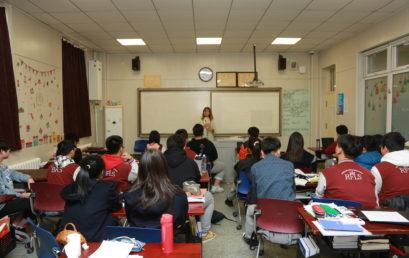 王府学校各年级开展法制教育班会活动