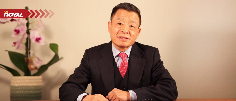 Principal Wang Guangfa Addresses BRS Community through Online Classroom